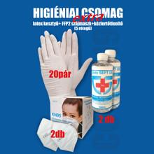 Extra higiéniai csomag - KN95 FFP2-es 5 rétegű szájmaszk