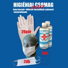 Extra higiéniai csomag - Saját gyártású egészségügyi szájmaszk