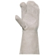 25173-es Hegesztőkesztyű 3 ujjas 3 ujjas marhahasíték 15 cm-es mandzsettával