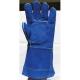 2636-os Hegesztőkesztyű Kevlar® szálas bélelt Kevlar® szálas bélelt, szikra- hőálló, tenyérerősítéses kék marhahasíték