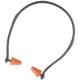 Earline pántos, kúp alakú, forgatható végű dugókkal,18 g, áll alatt is viselhető (SNR 21dB)