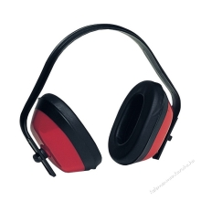 MAX 200  piros ABS fültok, könnyű  (SNR 27dB)