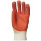 3831-es Vulkanizált Ecoline latex erős, piros, szellőző, kötött háttal