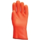 3939-es Bélelt PVC fluo kesztyű  30 cm, vegyszerálló, antibakteriális Actifresh® kiképzéssel