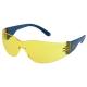 Classic sárga, karc- és páramentes polikarbonát lencse, oldalvédős kék szár