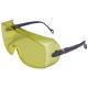 2800 sárga, korr. szemüvegre vehető, karcálló, állítható szárhossz és lencseszög