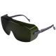 3M 2805, korrekciós szemüvegre vehető, karcálló, állítható szárhossz és lencseszög