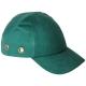 Baseballsapka  beépített protektorral, fejbeütődés ellen, zöld színben