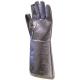 59892-es 38cm-es alumínizált kesztyű aramid belső, kontakt+sugárzó hő-, láng-, olvadt fém ellen