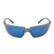 Solus kék tükrös lencse, szilikon orrnyereg, szürke/kék szár