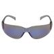 Virtua tükrös kék, ívelt polikarbonát, hallásvédőkhöz is