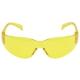 sárga lencséjű, ívelt polikarbonát, hallásvédőkhöz is