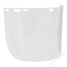 Polikarbonát arcvédő látómező 195 x 430 mm (vastagsága 1mm)
