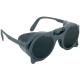 Eurolux  száras szemüveg felhajtható sötét üveggel, oldalvédővel