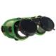 Revlux   felhajtható kerek lencse, hőálló műanyag keret, pormentes szellőzőgombok