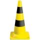 Jelzőbója, 54 cm magas, sárga-fekete