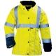 AIRPORT LADY szellőző Breathane® női télikabát, Oxford PE/PU külső,180 g/m2 polár bélés, selymes taft ujjak