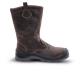 COVELLITE (S3 CK) sötétbarna nubuk, szőrmebélés, kompozit lábujjvédő és talplemez, fémmentes