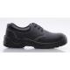 MIXITE (S1) fekete bőr cipő, acél lábujjvédővel