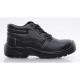 MIXITE (S1) fekete bőr bakancs, acél lábujjvédővel