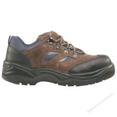 COPPER (S1P) barna velúrbőr cipő