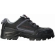 ARAGONITE (S1P CK) fekete bivalybőr cipő, kompozit kapli+talp, Tybrelle bélés, fémmentes