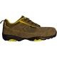 ASCANITE (S1P HRO CK) khaki nubukbőr/vászon sportcipő, kompozit kapli+talplemez, fémmentes