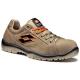 JUMP 500 (01) khaki velurbőr cipő, lábujjvédő nélküli, sportos, kényelmes kivitel, szellőző bélés