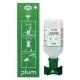 PLUM   fali elsősegély 1-es szerelvény,0,5l normál palack, fali tartó, használati tábla