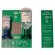 PLUM  fali elsősegély 2-es szerelvény, 0,2l pH neutral + 0,5l normál palack, fali tartó, tükör
