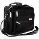 Lux Optical váll- és laptop táska,  fekete, PA 1860D alapanyag