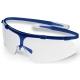 Super G  csúszásbiztos, könnyű (18g) kék Grilamid keret, karc- és páramentes víztiszta lencse (HC-AF)