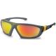 Athletic barna alapon kiváló UV-, és napfényszűrő narancs tükrös lencse (SCT)