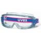 Uvex Ultravision  gumipántos szemüveg, páramentes, vegyszerálló acetát lencsével