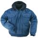 BEAVER dzseki, -45ºC, vízhatlan, kopásálló, királykék színű, puha 60% pamut, 40% poliészter