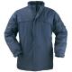 KABAN  kék kabát, PVC-vel vízhatlanított poliészter külső, 180g/m2 poliészter bélés