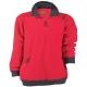 ANGARA  piros pulóver, bebújós mikro-polár, 380 g/m2