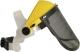 VISOGRILL Arcvédő homlokpánttal, sűrű fém szitaszövet