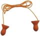 1131 QUITE zsinóros füldugó, lekerekített forma, beépített beillesztő szár SNR 28dB