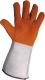 Alu kézfejvédő, hegesztő kesztyűhöz