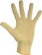 2241 Vágásbiztos, kevlár kesztyű, vékony, gumírozott mandzsetta