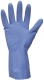 2288 Petra háztartási gumikesztyű, latex, kék, 0,45 mm vastagságú