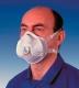 FFP-2D szelepes légzésvédő finom részecskék,olaj- vagy vízbázisú ködök és fém füstök ellen