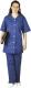 4626A színes női nadrág, tartós viselet, sötét kék, 190 grammos kevert szálas alapanyagból
