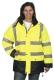 Apolló jó láthatósági kabát, citrom sárga,  poliuretan bevonatú oxford poliészter vizálló külső alapanyagú