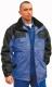 Grönland  kabát, vízlepergető oxford poliészter, királykék-fekete