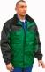 Grönland  kabát, vízlepergető oxford poliészter, zöld-fekete