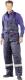 4686 Hűtőházi kantáros nadrág, termo hőszigetelő bélés, II. kategória poliészter külsõ anyag,  sötét kék