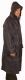 Esőkabát, sav és lúgálló, poliamidra mártott PVC, 120 cm hosszú, királykék