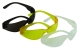 Védőszemüveg, füstszínű PC lencsével, PC kerettel
